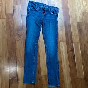 American Eagle Stretch skinny jeans size 6 long